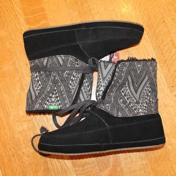 88a7fa0aad77 NWT Sanuk soulshine chill snow boot